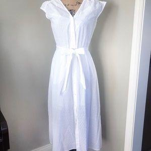 Draper James Eyelet Dress White